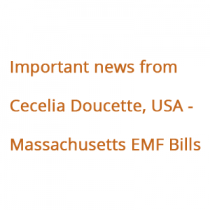 Massachusetts EMF bills assigned to the Joint Committee on Education