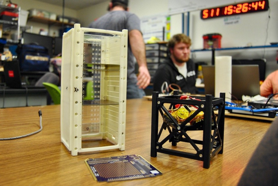 Oregon's first nano-satellite, OreSat