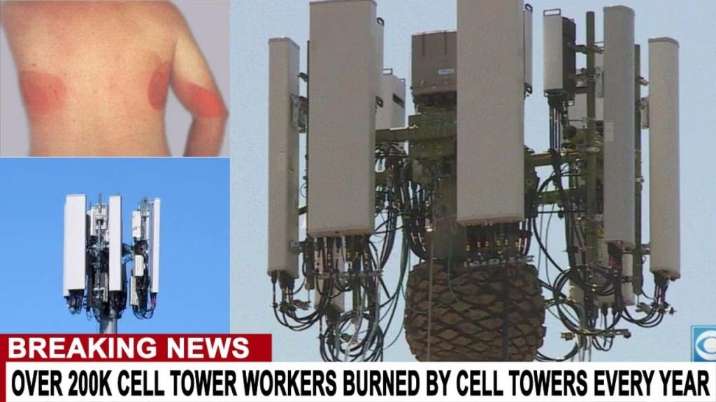 BREAKING: Radiation Sickness Nukes 250K Cell Tower Workers According to Insurance Study